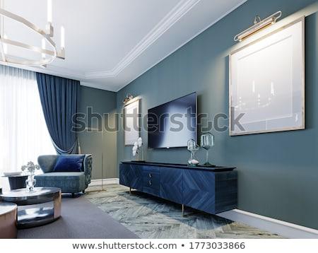 Eğlence oda 3D render örnek iç Stok fotoğraf © Spectral