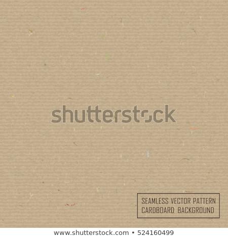Gerecycleerd karton vezel onderdelen naadloos Stockfoto © Iaroslava