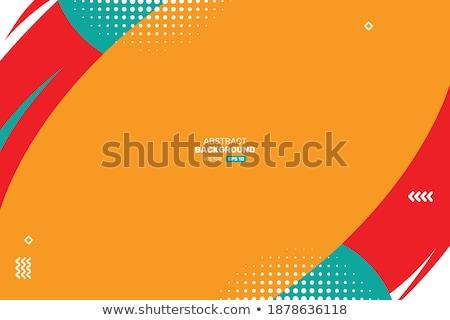 Vektor absztrakt mértani sablon brosúra terv Stock fotó © fresh_5265954
