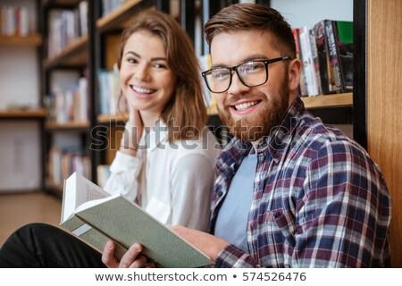 книга · библиотека · женщины · студент - Сток-фото © vlad_star