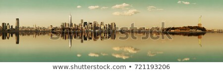 City over the river Stock photo © Pozn