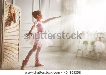 Bambina scuola ragazza dance studente Foto d'archivio © msdnv