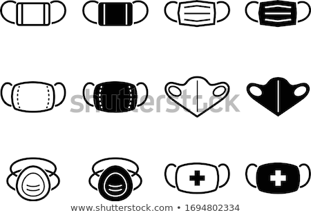 Allergy Icons and Doctor, Nurse and Treatment Stock photo © robuart