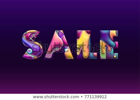 primavera · venda · bandeira · modelo · rosa · cor - foto stock © marysan