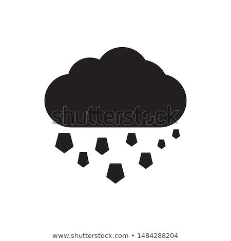 Hail icon Stock photo © angelp