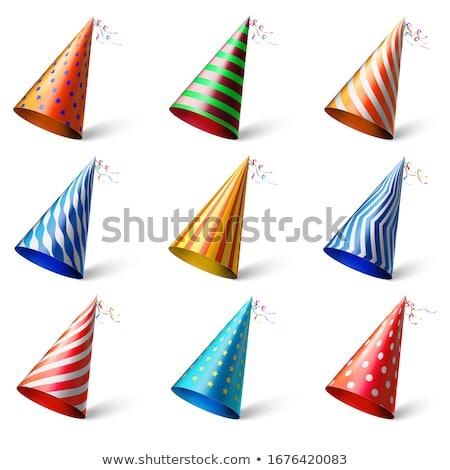 Happy Birthday Celebration Cap, Festive Headwear Stock photo © robuart