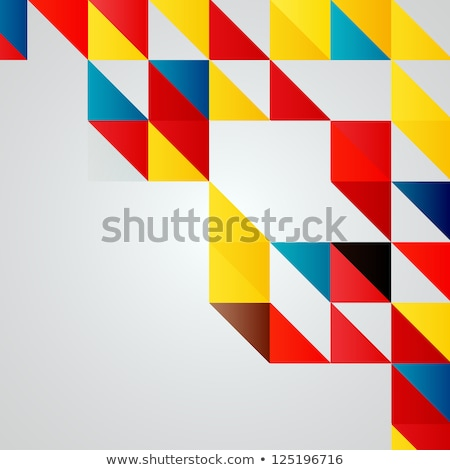 digital vector blue red yellow stock photo © frimufilms