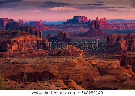 Straße · Arizona · USA · rock · Landschaften · Felsen - stock foto © prill
