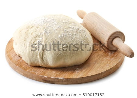 Fresh raw yeast dough buns  Stock photo © brebca