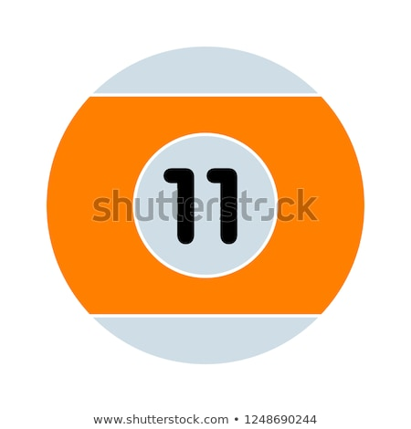 billiard ball icon Stock photo © Mark01987