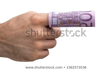 500 · евро · отмечает · изолированный · белый · бизнеса - Сток-фото © andreypopov