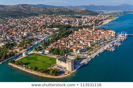 Kasteel Kroatië republiek Venetië stad Stockfoto © borisb17