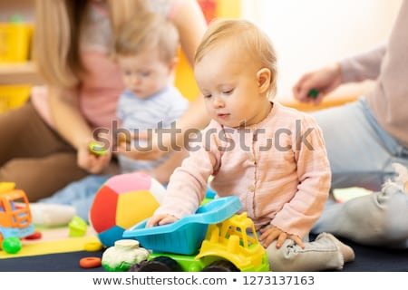 Child in playgroup of kindergarten Stock photo © Kzenon