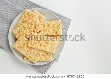 Soda Crackers Background Stock photo © AlphaBaby