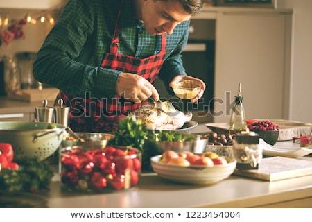 cooking turkey Stock photo © ssuaphoto