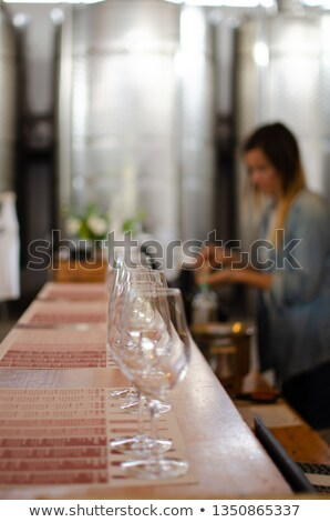 Conducting experiment on wine Stock photo © photography33