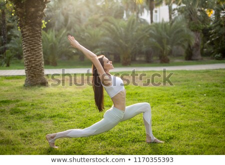 mulher · branco · menina · sorrir · saúde · retrato - foto stock © photography33