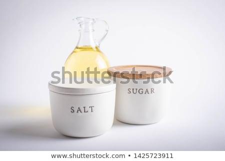 Vet zout suiker dieet- gezondheid Stockfoto © zkruger