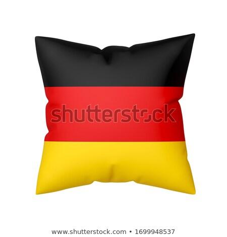 German flag pillow isolated Stock photo © ozaiachin