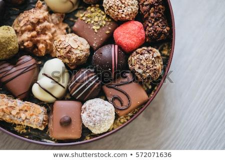 kutu · lezzetli · çikolata · şeker · tatlı · tatil - stok fotoğraf © manaemedia