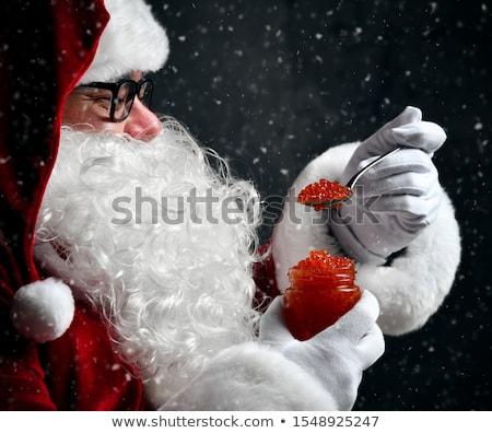 Merry christmas with plenty of food Stock photo © lightkeeper