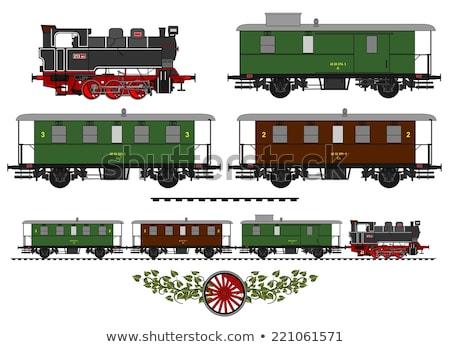 зеленый · поезд · интернет · фон · знак · веб - Сток-фото © genestro