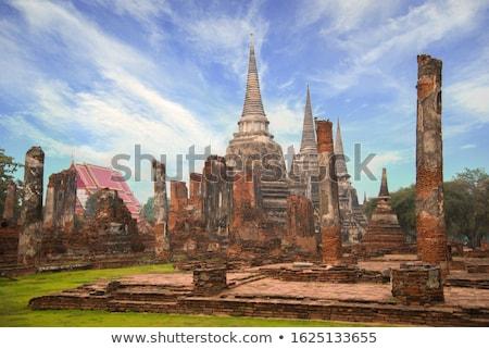 Wat Phra Sri Sanpetch Stock photo © Witthaya