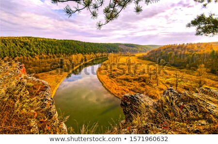 Golden River Stock photo © emattil