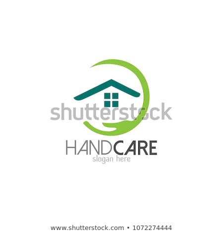 logo · domu · wykres · podpisania · sieci · internetowych - zdjęcia stock © butenkow