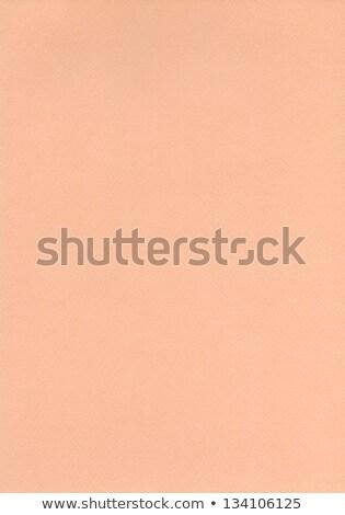 Fiber Paper Texture - Peach Orange stock photo © eldadcarin