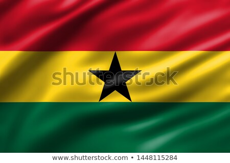 Abstract background with the Ghana Flag Stock photo © maxmitzu