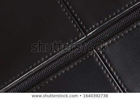 Leather with zip Stock photo © ShawnHempel