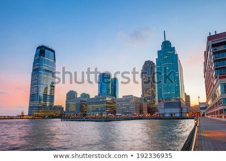 Jersey city cityscape Stock photo © AndreyKr