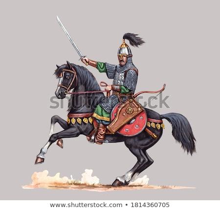 Stock photo: Sword And Uniform