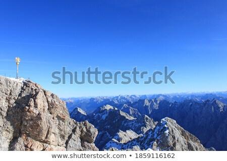 Large rock in the German alps, Bavaria Stock photo © haraldmuc