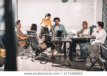 Business partners having a meeting Stock photo © AndreyPopov