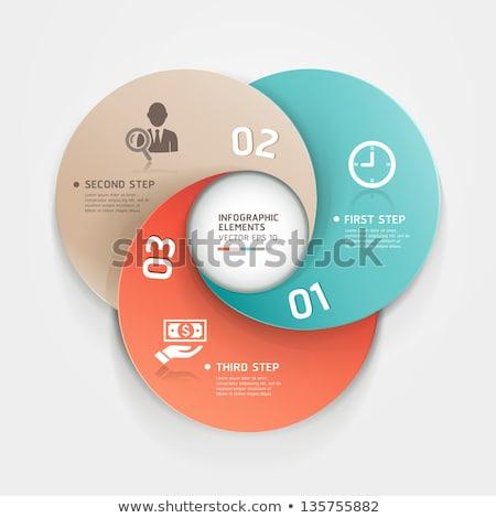 infografica · set · optiuni · afaceri · icoane · grafice - imagine de stoc © wad