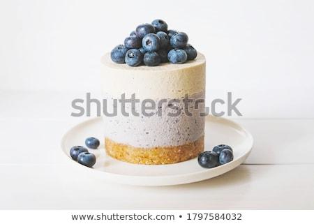 dessert · voedsel · vruchten · ontbijt · room - stockfoto © M-studio