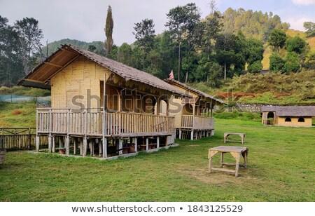 small restaurant in nepal stock photo © dutourdumonde