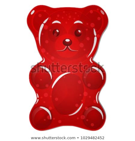 red gummy bear Stock photo © prill