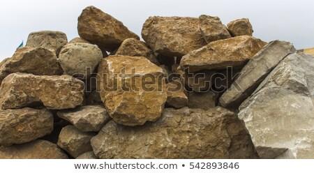 Büyük kayalar renkler Stok fotoğraf © rhamm