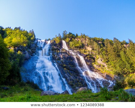 Nardis, waterfall, val di Genova, Italy Stock photo © Antonio-S