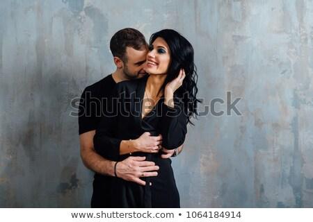 moda · para · skóry · miłości · człowiek - zdjęcia stock © feedough