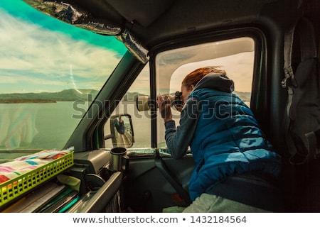 zawodowych · fotograf · działania · paparazzi · teleobiektyw · obiektyw - zdjęcia stock © toocan