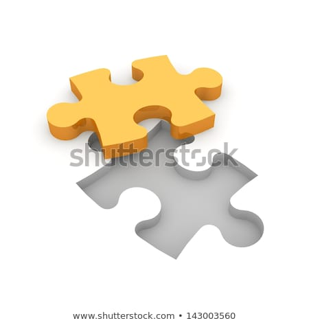 Quality on Orange Puzzle. Stock photo © tashatuvango