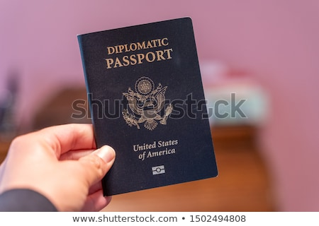 USA Diplomatic Passport Stock photo © Bigalbaloo
