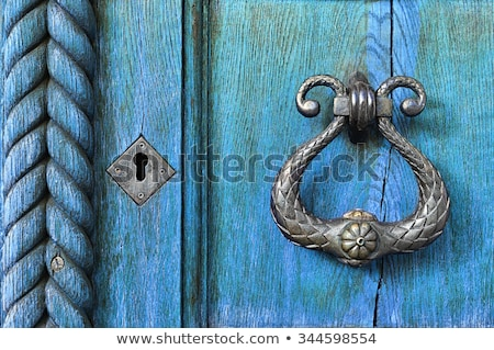 Detail of an antique knocker Stock photo © gsermek