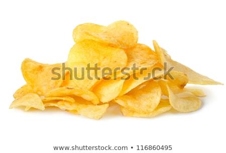 Grande chip aislado blanco negocios trabajo Foto stock © shutswis