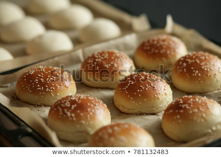 appetizing bun with sesame Stock photo © shutswis