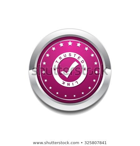 リンク · ピンク · ベクトル · ボタン · アイコン · デザイン - ストックフォト © rizwanali3d